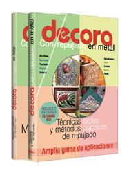 DECORA Con repujado en metal